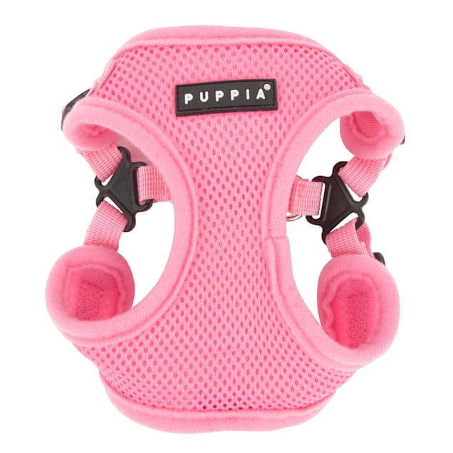 Puppia Pink Soft Comfort Dog Harness, Small - Carousel image #1