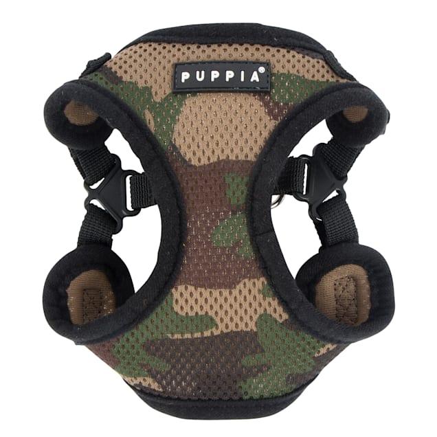 Puppia Camo Soft Comfort Dog Harness, Small - Carousel image #1