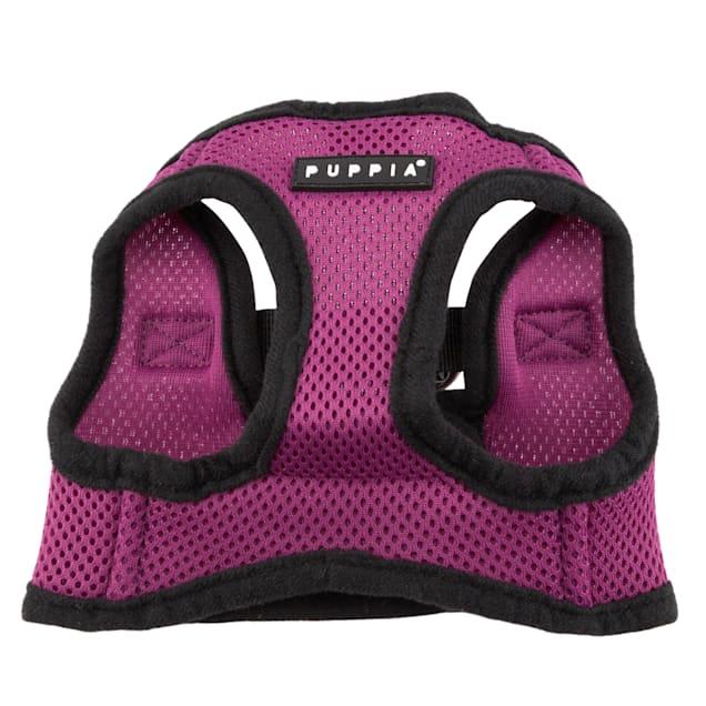 Puppia Purple Soft Vest Dog Harness, X-Small - Carousel image #1