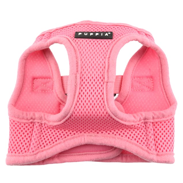 Puppia Pink Soft Vest Dog Harness, X-Small - Carousel image #1