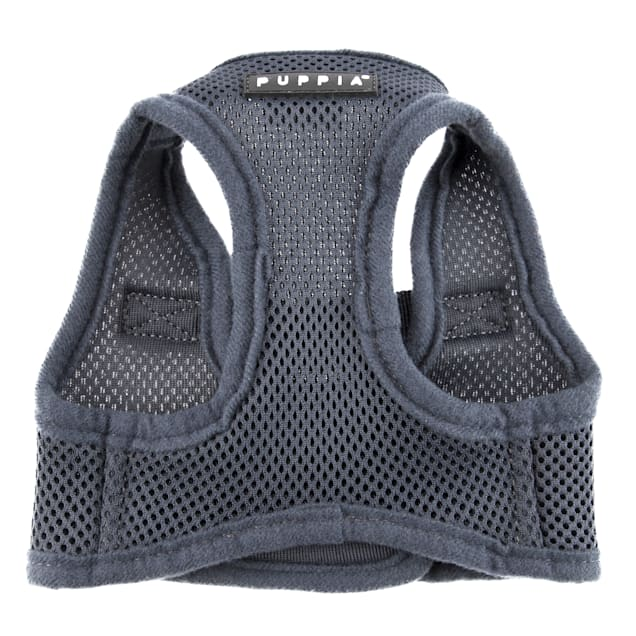 Puppia Grey Soft Vest Dog Harness, X-Small - Carousel image #1