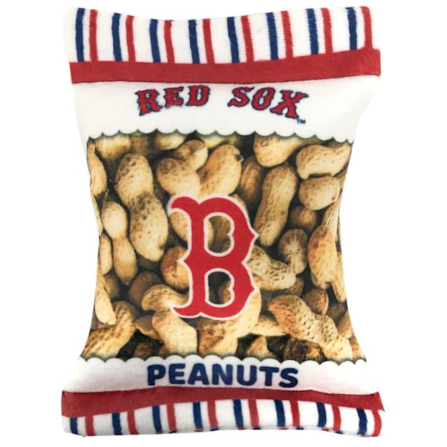 Pets First Boston Red Sox Peanut Bag Dog Toy, Medium - Carousel image #1