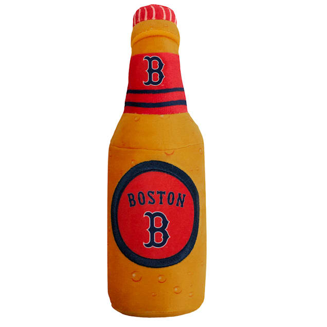 Pets First Boston Red Sox Bottle Dog Toy, Medium - Carousel image #1