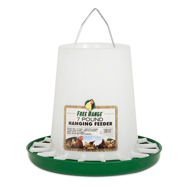 Manna Pro Harris Farms Hanging Poultry Feeder, 7 lbs. - Carousel image #1