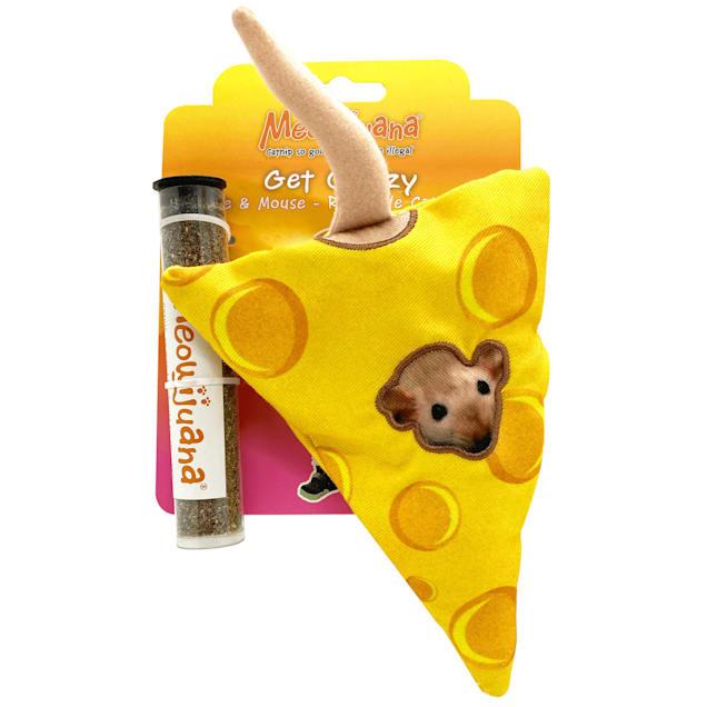 Meowijuana Get Cheezy Refillable Cat Toy, Medium - Carousel image #1
