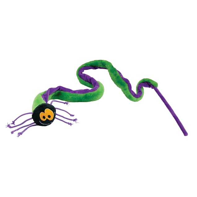 KONG Halloween Teaser Spider Cat Toy - Carousel image #1