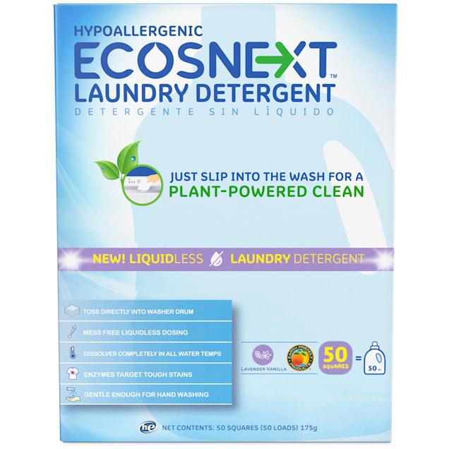ECOSNEXT Hypoallergenic Lavender Vanilla Liquidless Laundry Detergent - Carousel image #1