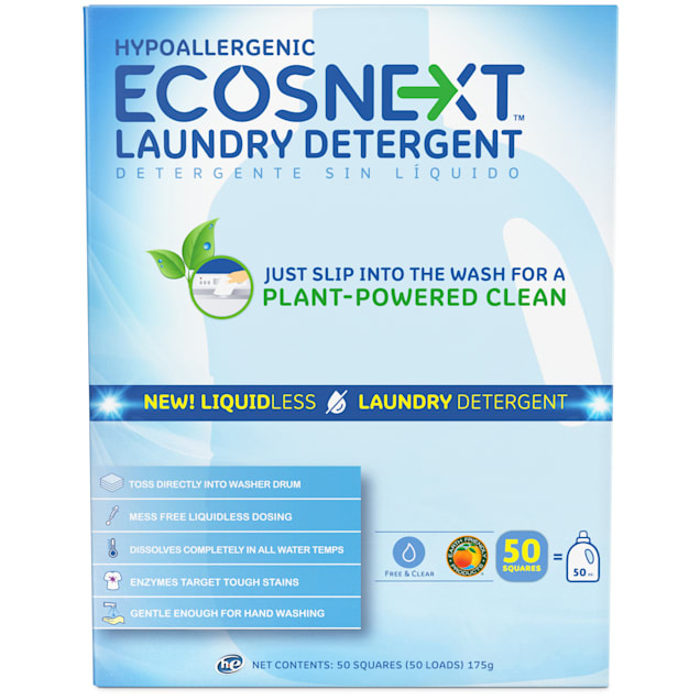 ECOSNEXT Hypoallergenic Free & Clear Liquidless Laundry Detergent - Carousel image #1