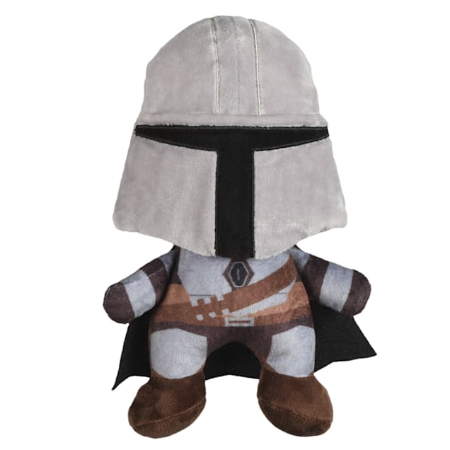 Fetch for Pets Star Wars The Mandalorian Plush Dog Toy, Small - Carousel image #1
