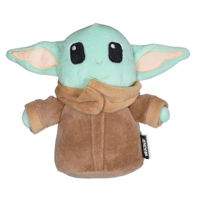 Fetch for Pets Star Wars Baby Yoda The Mandalorian The Child Plush Dog Toy, Small - Carousel image #1