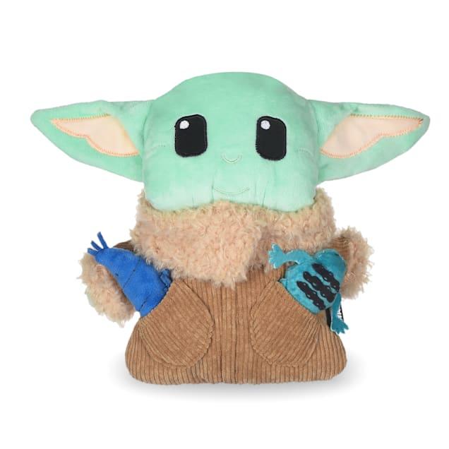 Fetch for Pets Star Wars Baby Yoda The Mandalorian The Child Burrow Dog Toy, Medium - Carousel image #1