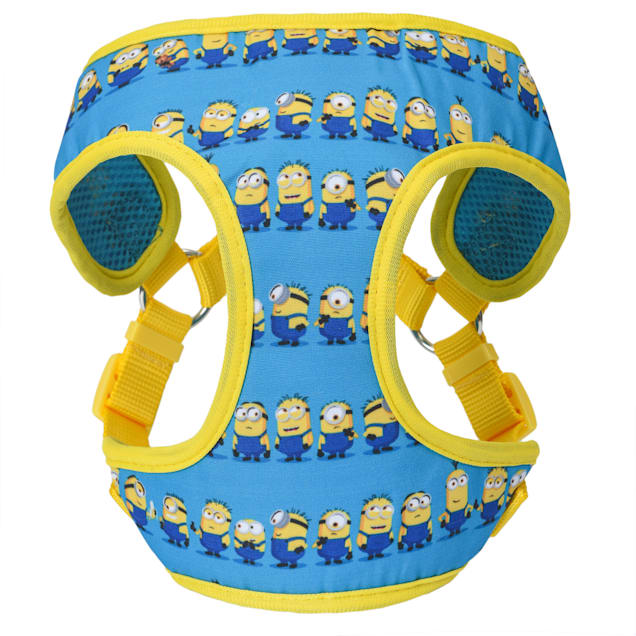 Fetch for Pets Minions Blue Dog Harness, Large - Carousel image #1