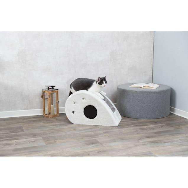 "TRIXIE Cream Topi Cat Condo, 13"" H - Carousel image #1"