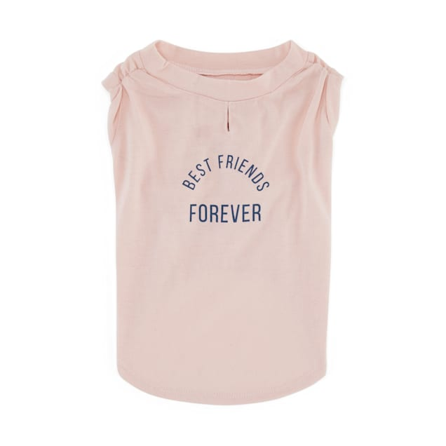 Reddy Best Friend Forever Tank Dog T-Shirt, X-Small - Carousel image #1