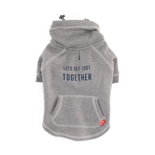 Reddy Let's get Lost Together Dog Hoodie, X-Small - Carousel image #1