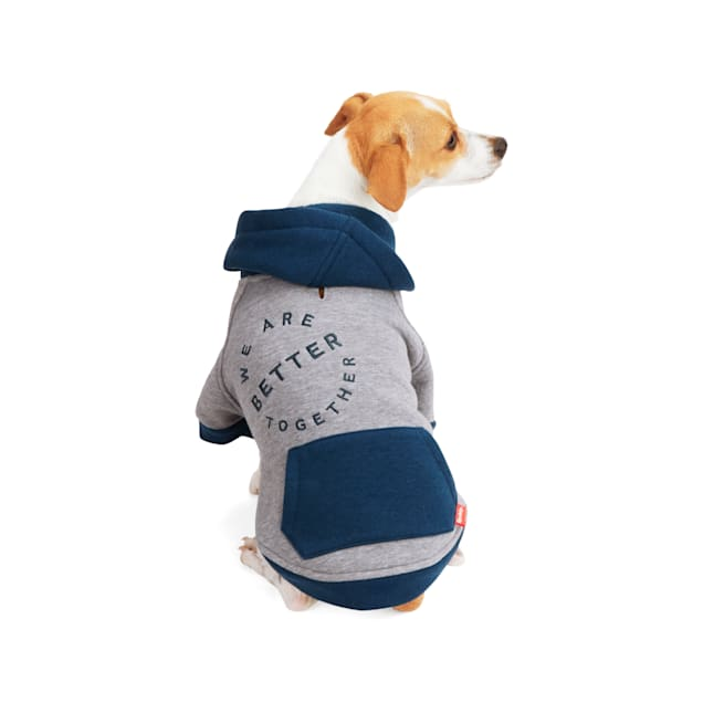 Reddy Better Together Colorblock Dog Hoodie, X-Small - Carousel image #1