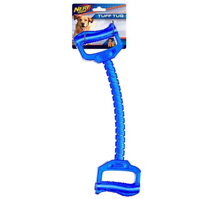 Nerf Blue TPR Handle Tug Dog Toy, Large - Carousel image #1