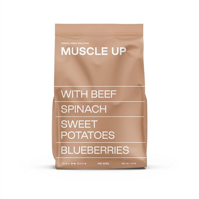 maxbone Muscle Up Beef Freeze-Dried Raw Dog Food, 16 oz. - Carousel image #1