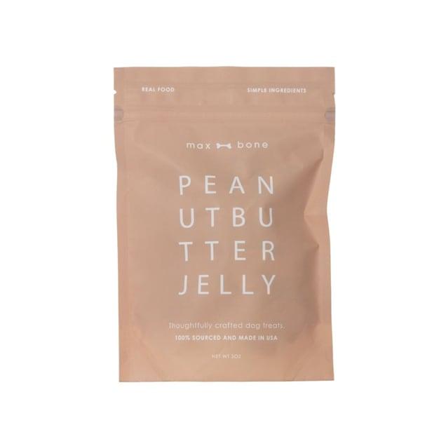 maxbone Grain Free Peanut Butter and Jelly Dog Treats, 5 oz. - Carousel image #1
