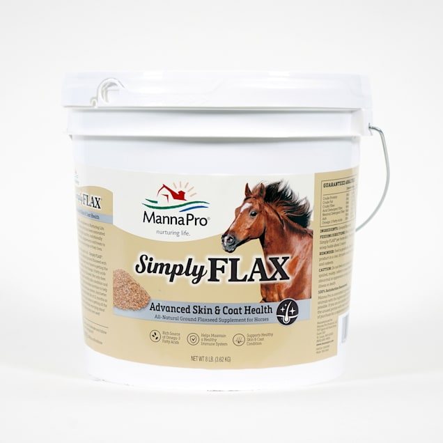 Manna Pro Simply Flax Advanced Skin & Coat Health for Horse, 8 lbs. - Carousel image #1