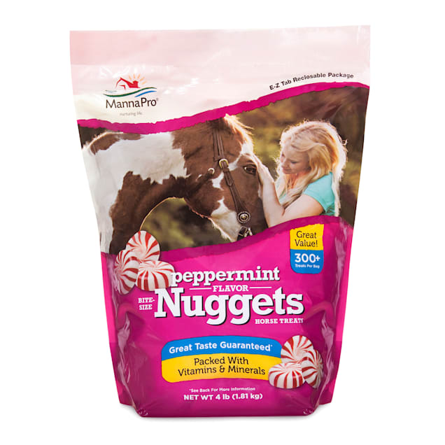 Manna Pro Bite-Sized Peppermint Nuggets for Horse, 4 lbs. - Carousel image #1