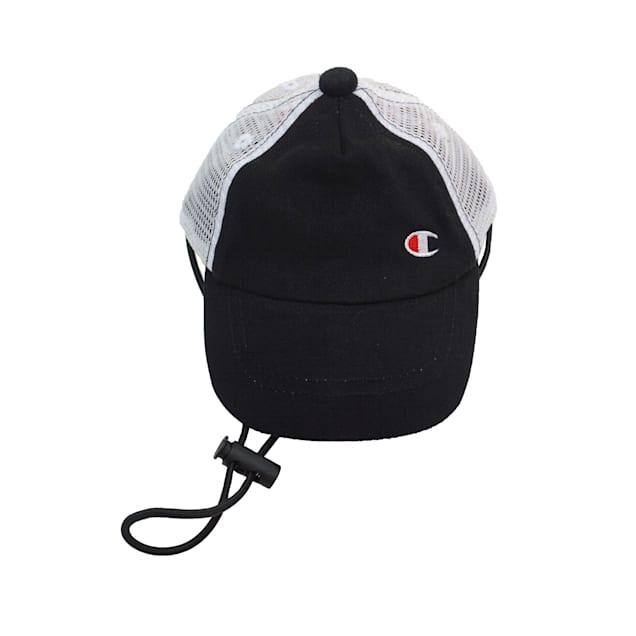 Champion Black Pet Hat, Small/Medium - Carousel image #1