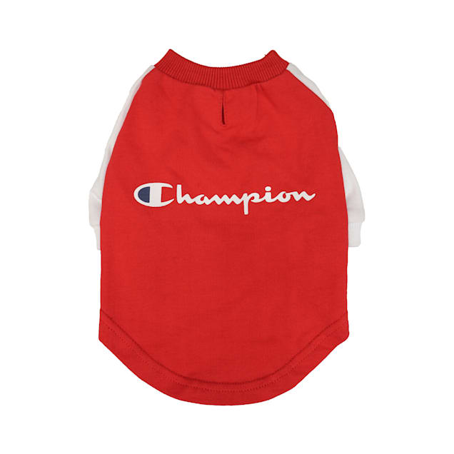 Champion Red Pet Tee, X-Small - Carousel image #1