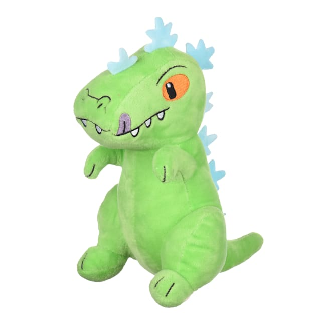 Fetch for Pets Nickelodeon Rugrats Reptar Figure Plush Dog Toy, Small - Carousel image #1