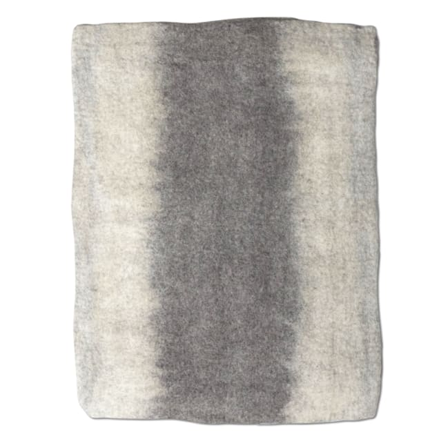 "Dharma Dog Karma Cat Natural Ombre Wool Pet Mat, 24"" L X 18"" W - Carousel image #1"