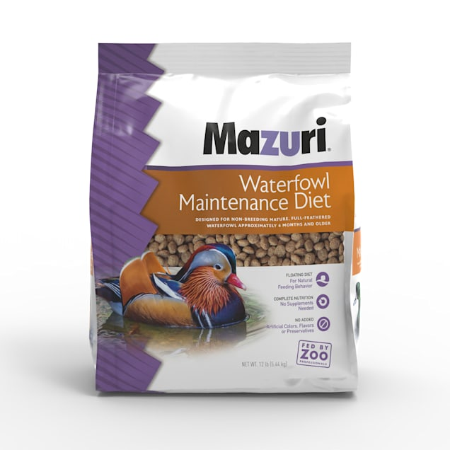 Mazuri Waterfowl Maintenance Diet Food, 12 lbs. - Carousel image #1