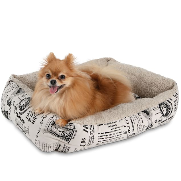 """Paws & Pals Newspaper Style Pet Bed, 21"""" L X 15"""" W X 4.5"""" H - Carousel image #1"""