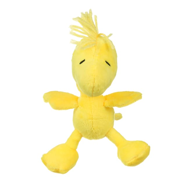 Fetch for Pets Peanuts Woodstock Figure Classic Plush Squeaker Dog Toy, Small - Carousel image #1