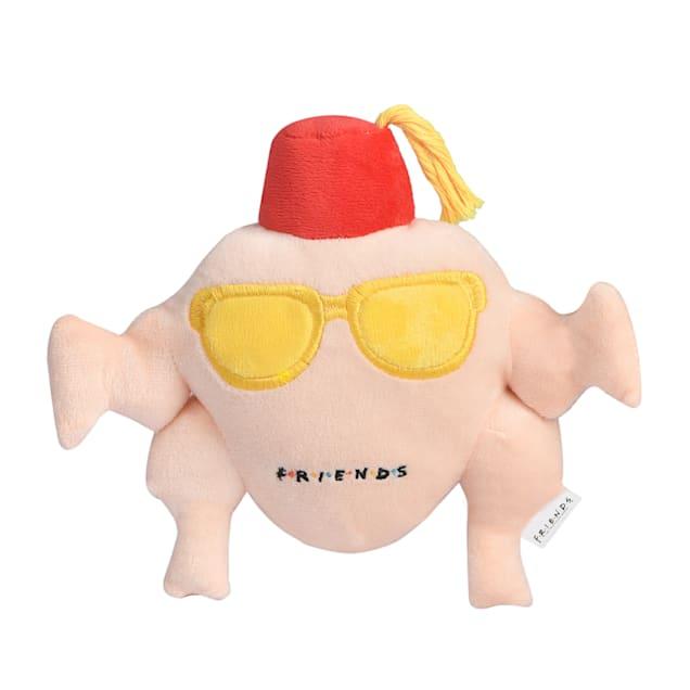 Fetch for Pets Friends TV Show Turkey Head Plush Dog Toy, Medium - Carousel image #1