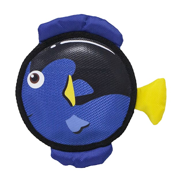 Petique Tangy the Blue Tang Pet Toy, Small - Carousel image #1