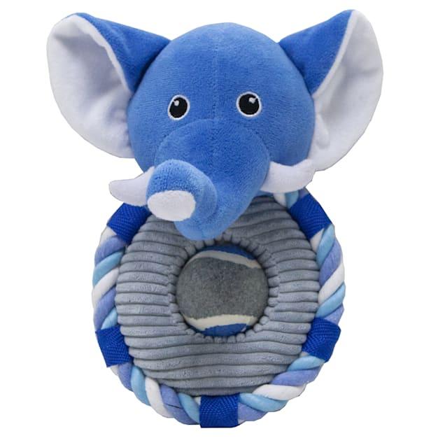 Petique Elvie the Elephant Pet Toy, Small - Carousel image #1