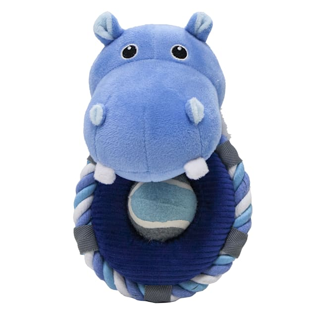 Petique Hippy the Hippo Pet Toy, Small - Carousel image #1