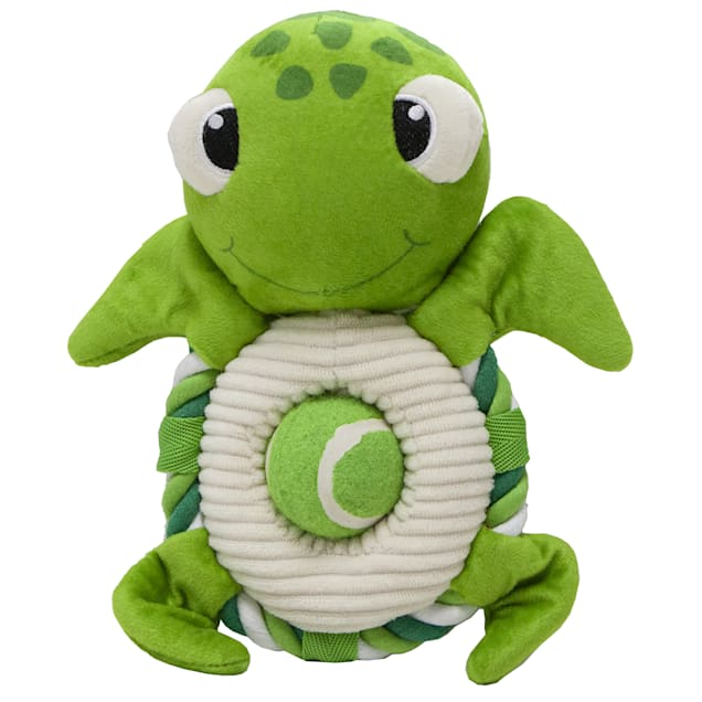 Petique Tripp the Turtle Pet Toy, Small - Carousel image #1