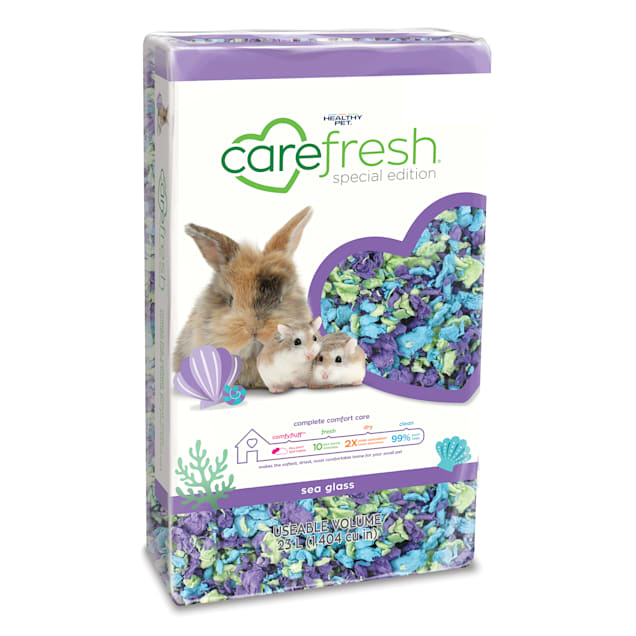 Carefresh Sea Glass Small Pet Animal Bedding, 23 Liter - Carousel image #1