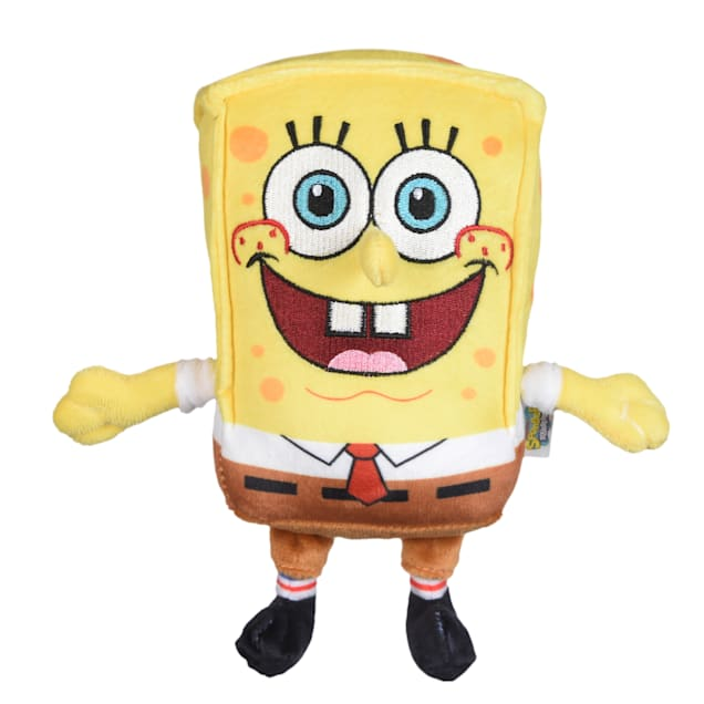 Fetch for Pets SpongeBob Nickelodeon SquarePants Figure Plush Dog Toy, Large - Carousel image #1