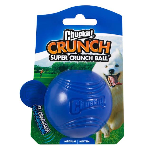 Chuckit! Super Crunch Ball Dog Toy, Medium - Carousel image #1