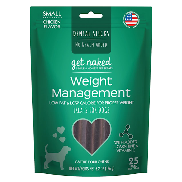 Get Naked Weight Management Chicken Flavor Small Dog Treats, 6.2 oz. - Carousel image #1