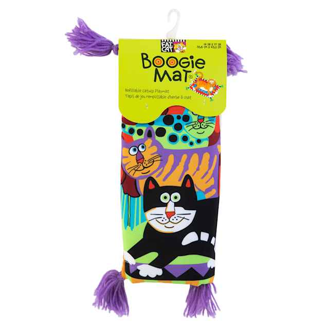 FAT CAT Boogie Mat for De' Cat Assorted Toy, Large - Carousel image #1