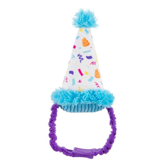 BARK Party Pooper Hat Dog Toy, Medium - Carousel image #1
