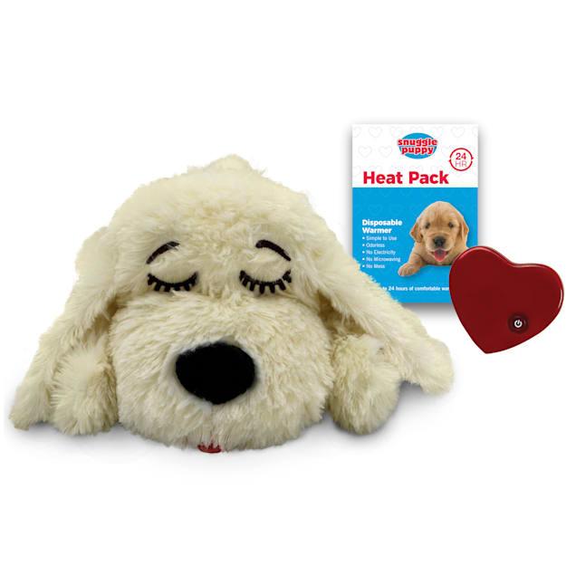 SmartPetLove Snuggle Puppy Golden Behavorial Aid Dog Toy, Medium - Carousel image #1