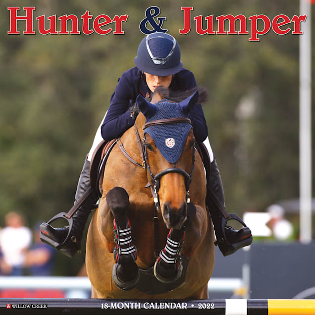 Willow Creek Press Hunter & Jumper 2022 Wall Calendar - Carousel image #1