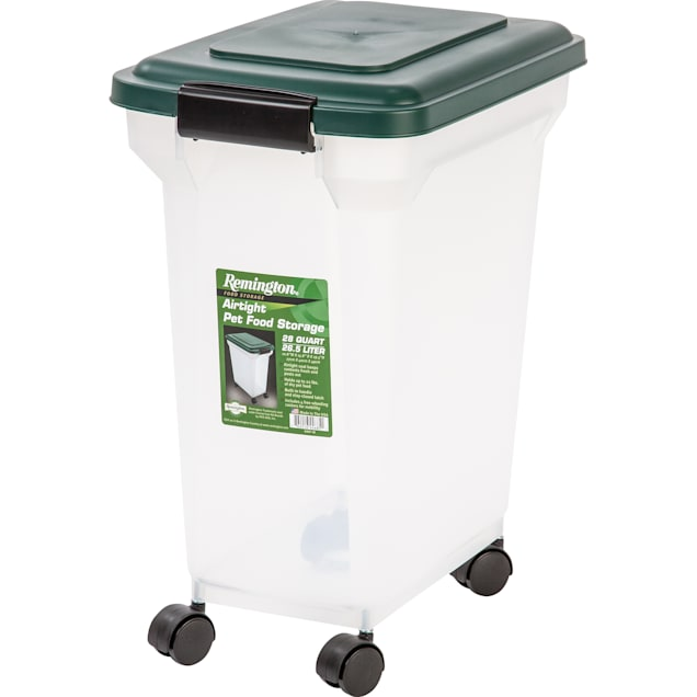 Iris Green Remington Airtight Food Storage Container for Dogs, 28 qt. - Carousel image #1