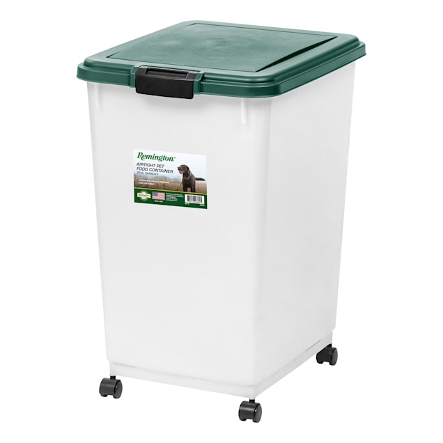 Iris Remington Airtight 55 lbs. Food Storage Container for Dogs - Carousel image #1