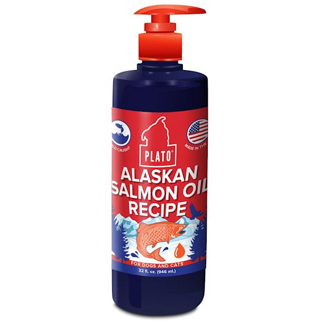 Plato Pet Alaskan Salmon Oil for Dogs, 32 fl. oz. - Carousel image #1