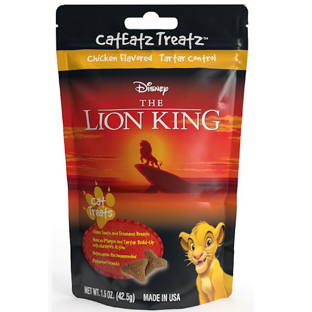 Team Treatz CatEatz Treatz Lion King Cat Treats, 1.5 oz. - Carousel image #1