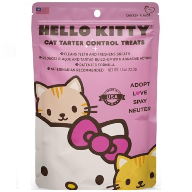 Team Treatz Hello Kitty Cat Tartar Control Treats, 1.5 oz. - Carousel image #1